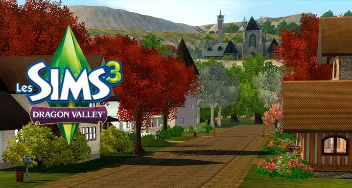 Sims  Ville Dragon Valley